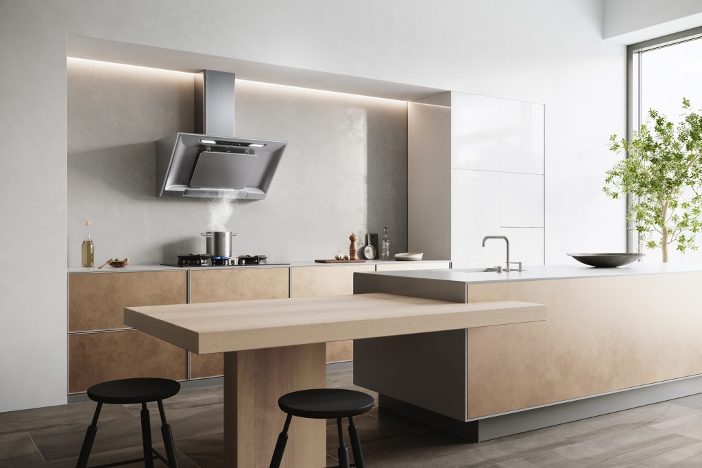 Inclined Cooker Hood