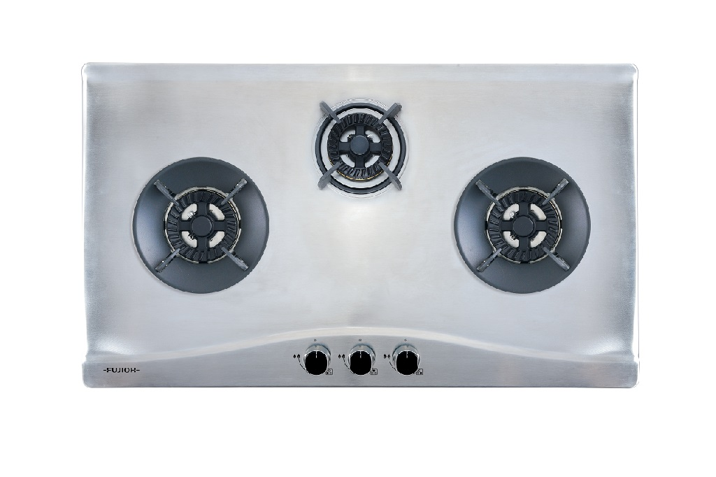 Stainless Steel Gas Hob with 2 Different Burner Size